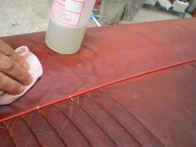 savon de marseille nettoyer cuir